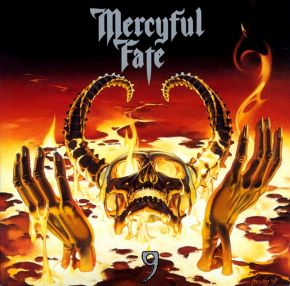 9 - LP (Grå vinyl) / Mercyful Fate / 1999