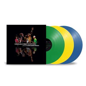 A Bigger Bang: Live on Copacabana Beach - 3LP (Brasilliansk Flag Vinyl) / The Rolling Stones / 2007/2021