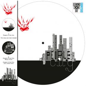 """People In The City - 12"""" Picture Disc Maxi Single (RSD 2021 Vinyl) / AIR / 2001/2021"""