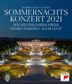 Sommernachtskonzert 2021 - Blu-Ray / Wiener Philhamoniker | Daniel Harding / 2021