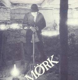 Mørk går på snö - LP / Mørk (Bosse Saxell) / 1986