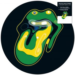 """Rain Fall Down / Rough Justice - 10"""" (RSD 2021 Picture Disc Vinyl) / The Rolling Stones / 2005/2021"""