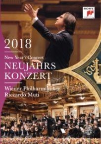 New Year's Concert: 2018 - Wiener Philharmoniker - DVD / Riccardo Muti   Wiener Philharmoniker   Johann Strauss   Franz Von Suppé   Alphons Czibulka / 2018