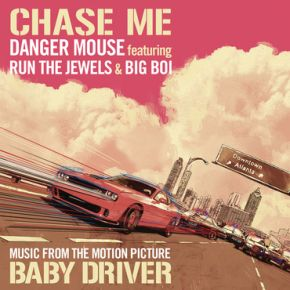 "Chase Me - 12"" (RSD 2017 Black Friday Vinyl) / Danger Mouse featuring Run The Jewels and Big Boi / 2017"