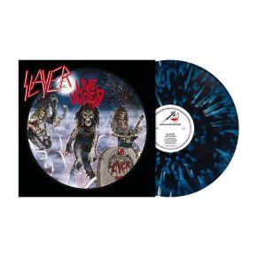 Live Undead - LP (Blå/Hvid Splatter Vinyl) / Slayer / 1985/2021