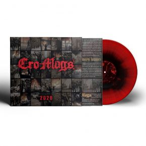 "2020 (10"") - LP (Rød/Sort Splatter Vinyl) / Cro-Mags / 2021"