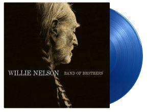 Band Of Brothers - LP (Blå vinyl) / Willie Nelson / 2014 / 2021