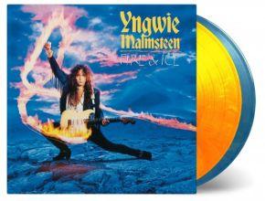 Fire & Ice - 2LP (Farvet Vinyl) / Yngwie Malmsteen / 1992 / 2020
