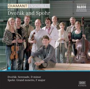 plays Dvorak and Spohr - CD / Diamantensemblet / 2006