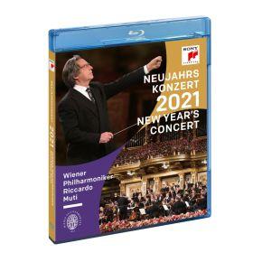 New Year's Concert 2021 - Blu-ray / Riccardo Muti & Wiener Philharmoniker / 2021