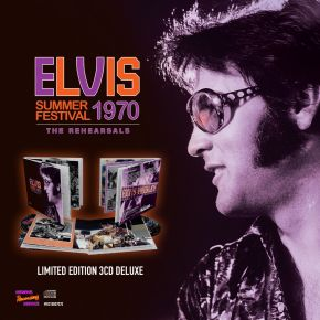 Summer Festival 1970 (the Rehearsals) -  3CD / Elvis Presley / 2021