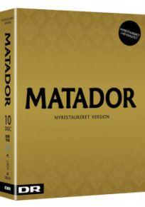 Matador (Nyrestaureret) - 10 Blu-Ray / Matador / 2017