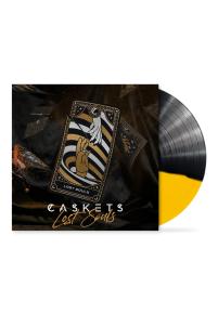 Lost Souls - LP (Sort/Gul Split Vinyl) / Caskets / 2021