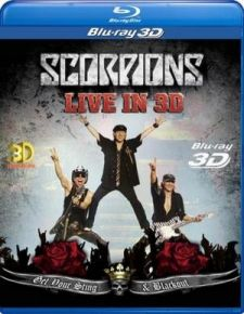 Live In 3D | Get Your Sting & Blackout - Blu-Ray / Scorpions / 2011