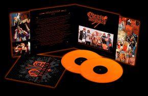 Voldsrap (Greatest Hits) - 2LP (Orange vinyl) / Odense Assholes / 2010 / 2019
