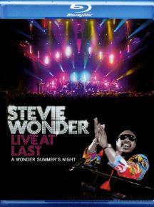 Live At Last - bluray / Stevie Wonder / 2009
