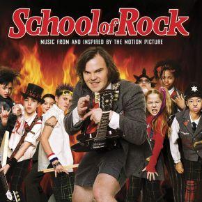 School Of Rock (Official Motion Picture Soundtrack) - 2LP (Orange Vinyl) / School Of Rock Feat. Jack Black   Soundtrack / 2003/2021