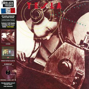 The Great Radio Controversy - LP (RSD2020 Farvet Vinyl) / Tesla / 1989 / 2020
