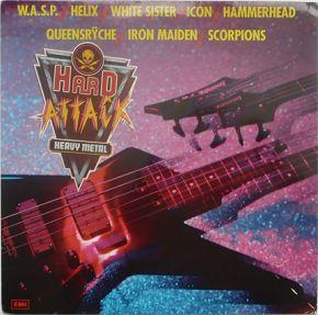 Hard Attack - LP / Various / 1985