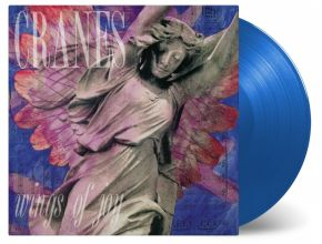 Wings of Joy  - LP (Blå vinyl) / Cranes / 1991 / 2019