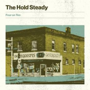 "Four On Ten - 10"" (RSD Black Friday 2019 Farvet Vinyl) / The Hold Steady / 2019"