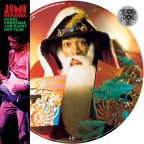 """Merry Christmas and Happy New Year - 12"""" (RSD Black Friday 2019 Picture Disc Vinyl) / Jimi Hendrix / 2019"""