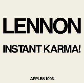 """Instant Karma! - 7"""" (RSD 2020 Vinyl) / John Lennon / 2020"""