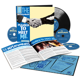 Pleased To Meet Me - 3CD+LP (Deluxe Edition) / The Replacements / 1987 / 2020