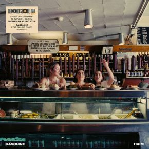 "Gasoline - 7"" (RSD 2021 Blå Vinyl) / Haim feat. Taylor Swift / 2021"