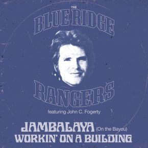 """The Blue Ridge Rangers EP - 12"""" Vinyl (RSD 2021 Blå Vinyl) / John Fogerty / 2021"""