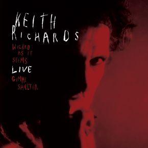"Live - 7"" Single (RSD 2021 Rød vinyl) / Keith Richards / 2021"
