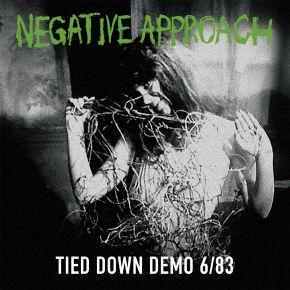 Tied Down Demo - LP (RSD 2021 Farvet Vinyl) / Negative Approach / 1983/2021