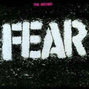 "The Record - 12""+7"" LP (RSD 2021 Klar og Hvid + Rød Vinyl) / Fear / 1982 / 2021"