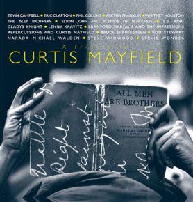 A Tribute to Curtis Mayfield - 2LP (RSD 2021 Blå og Grå Vinyl) / Various Artists / 1994 / 2021
