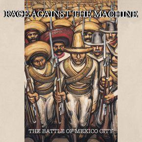 The Battle Of Mexico City - 2LP (RSD 2021 Rød/Grøn Farvet Vinyl) (Bøjet hjørne) / Rage Against The Machine / 2000/2021