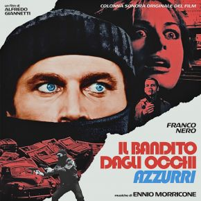 Il Bandito Dagli Occhi Azzurri - LP (RSD 2021, Klar Blå Vinyl) / Ennio Morricone / 1982 / 2021