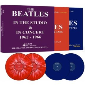 "In The Studio & In Concert 1962-1966 - 4 x 10"" LP (Boxset) / The Beatles / 2021"