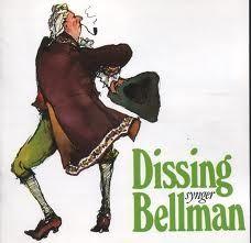 Dissing Synger Bellman - CD / Povl Dissing / 1991