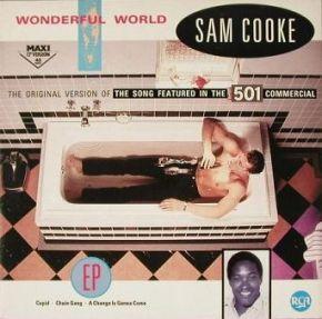 "Wonderful World 12"" / Sam Cooke / 1986"