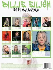 Billie Eilish 2021 Calendar A3 / Billie Eilish / 2021