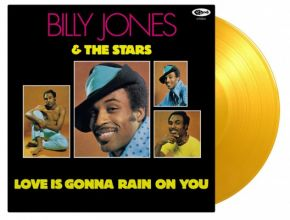 Love Is Gonna Rain On You - LP (Gul Vinyl) / Billy Jones & The Stars / 1970 / 2020