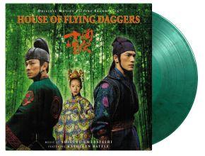 House Of Flying Daggers - LP (Farvet vinyl) / Shigeru Umebayashi   Soundtrack / 2004 / 2021