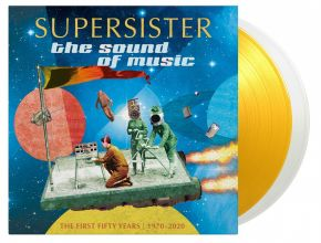The Sound Of Music: The First Fifty Years 1970-2020 - 2LP (RSD 2021 Klar & Gennemsigtig Gul Vinyl) / Supersister / 2021