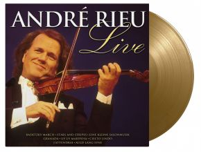 Live - LP (Guld Vinyl) / André Rieu / 1995/2021
