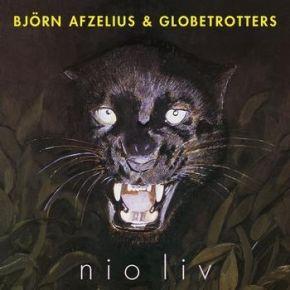 Nio Liv - LP / Björn Afzelius & Globetrotters / 1985