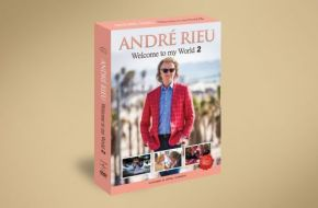 Welcome To My World 2 - 3DVD / Andre Rieu   Johan Strauss Orchestra / 2019