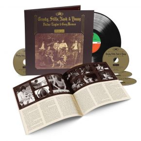 Deja Vu (50th Anniversary) - 4CD+LP  / Crosby, Stills, Nash & Young / 1970 / 2021