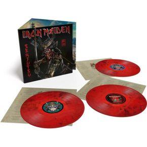 Senjutsu - 3LP (Rød/sort vinyl) / Iron Maiden / 2021