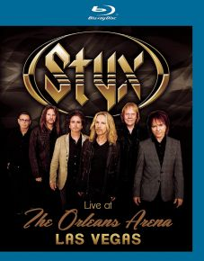 Live At The New Orleans Arena Las Vegas - Blu-Ray / Styx / 2016