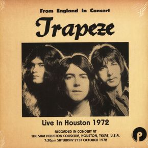 Live In Houston 1972 - 2LP (RSD 2021 Vinyl) / Trapeze / 2021